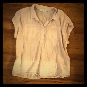 Vince Camuto beachy button up